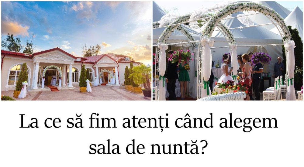 Ajutor ma casatoresc!  - MAC Florea - La ce să fim atenți când alegem sala de nuntă?