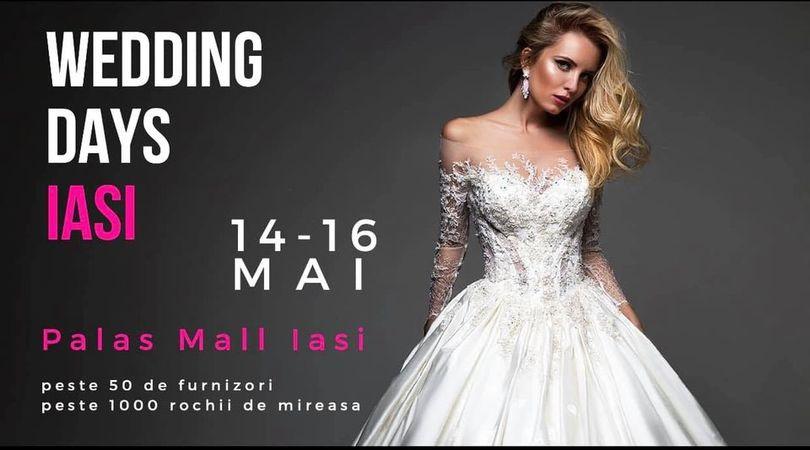 Ajutor ma casatoresc!  - MAC Florea - Vino la Wedding Days Iași - Pallas Mall 14-16 Mai 2021